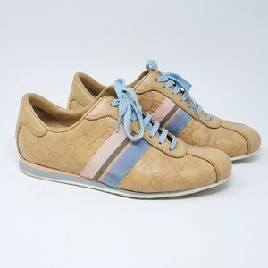 Gucci Shoes - 💯 Auth Gucci Guccissima Sneaker Leather Shoes